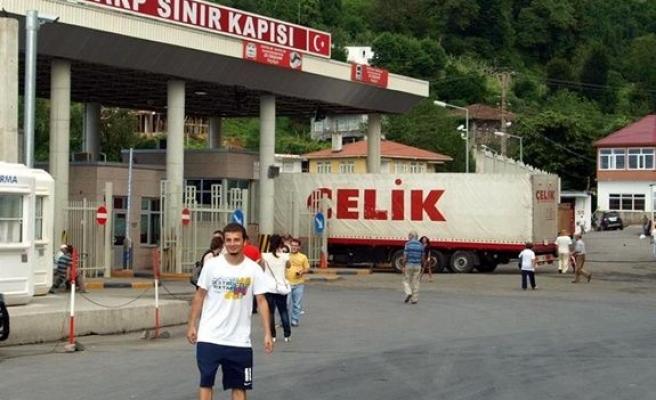 Sarp'tan Sinop'a karadeniz sahil yolu